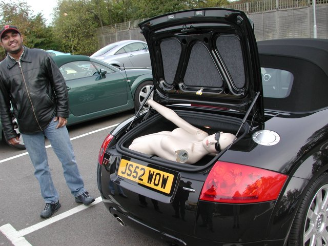 The Audi Tt Forum View Topic Tt Roadster Trunk Space